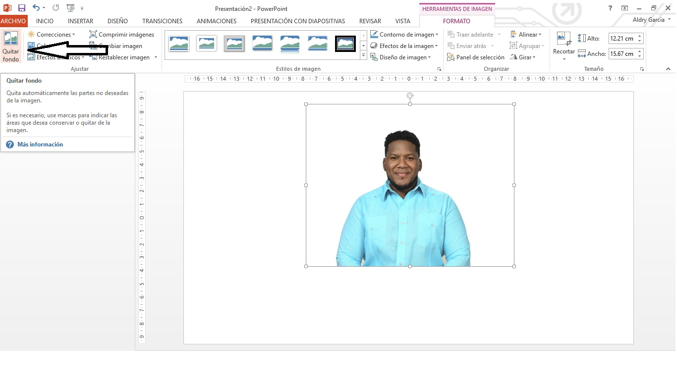 ¿Cómo quitarle el fondo a una imagen sin usar photoshop?